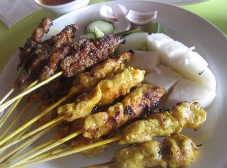 Malaysian Satay and Satay Sauce