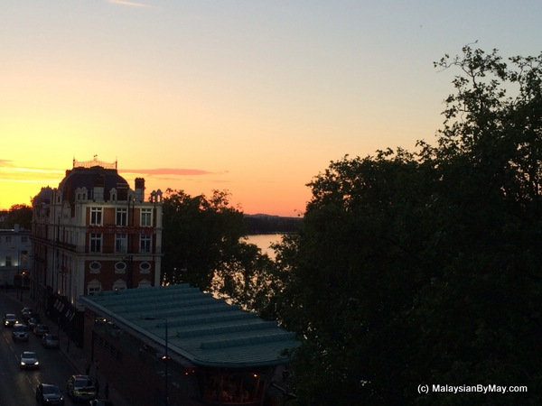 Sunset in Putney Malaysian By May Supperclub